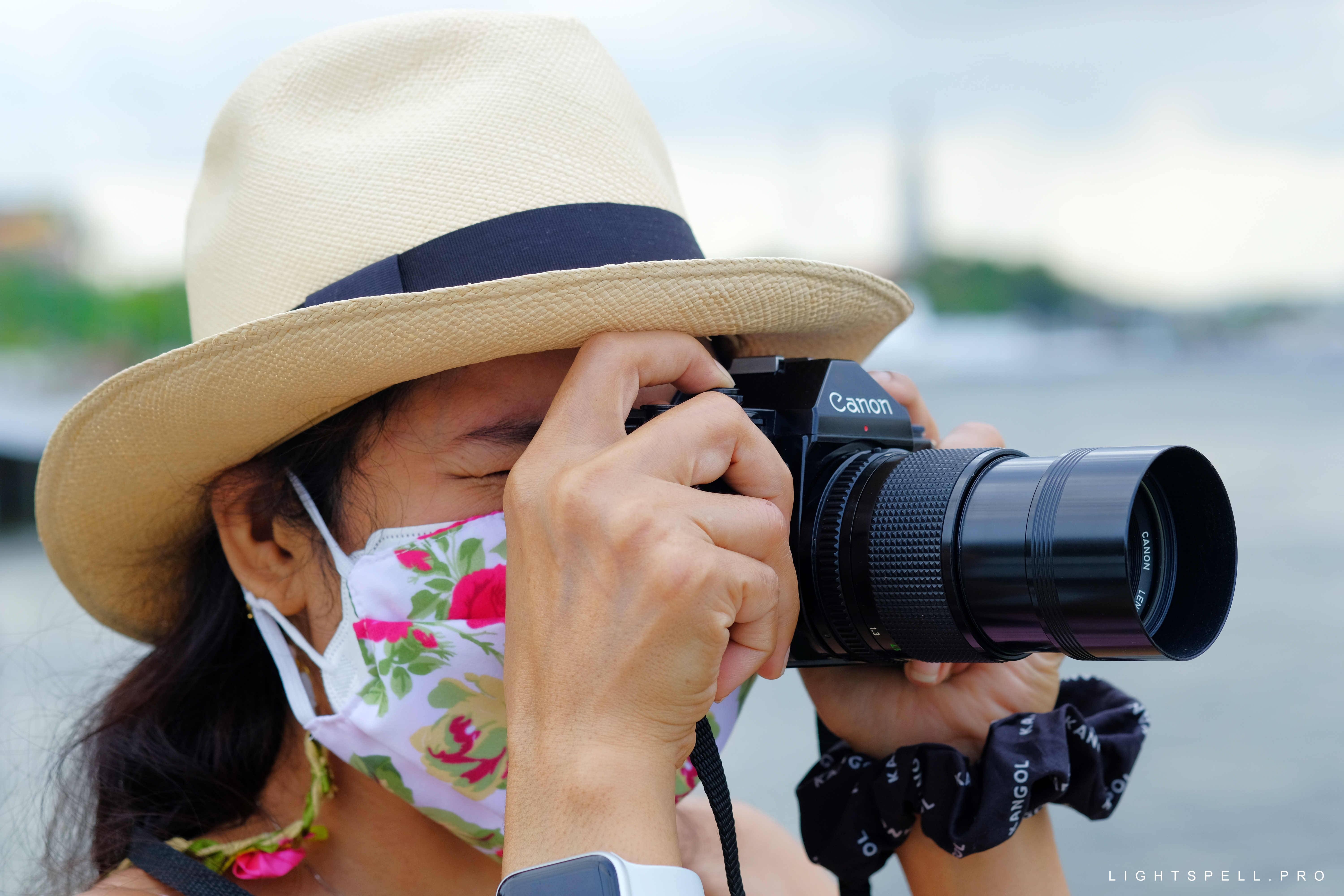 The Canon A-1 35mm Film Camera in Thailand